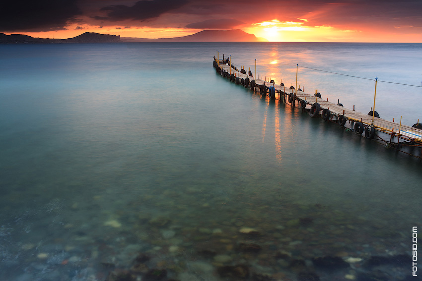 Море на рассвете