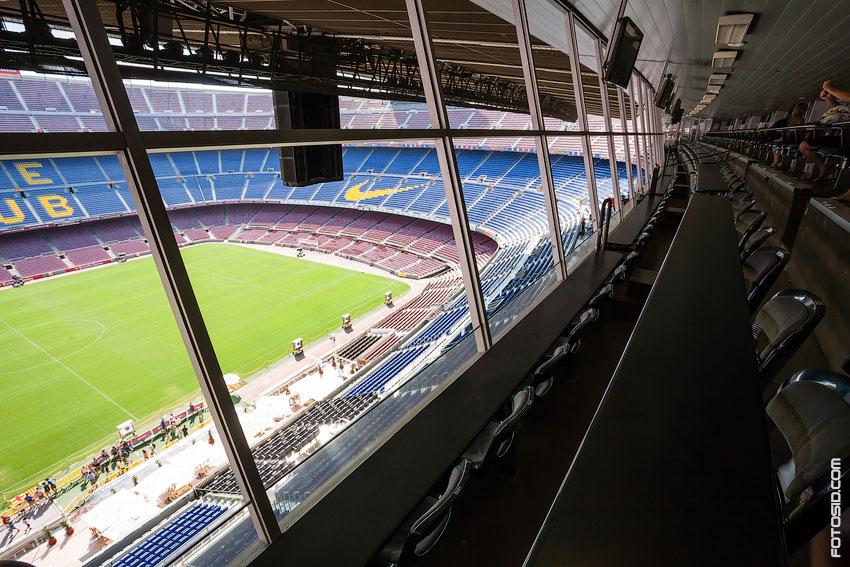 Стадион Камп Ноу - Фотографии Сергея Сидорова